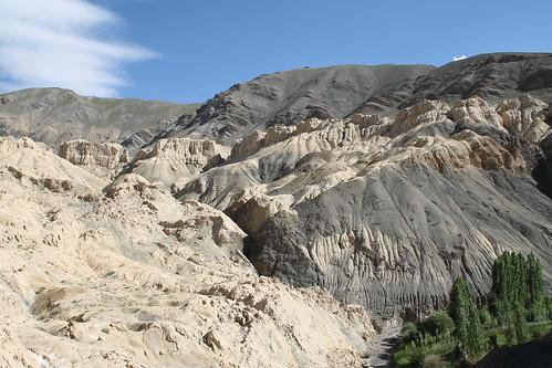 ladakh india valley canyon moon kashmir himalaya