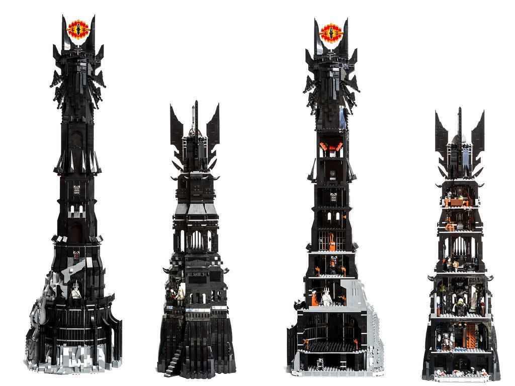 Lego Tower Of Barad Dur Moc Update 18 October 2015 Flickr