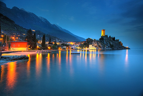 italien italy lake garda italia bluehour italie malcesine veneto