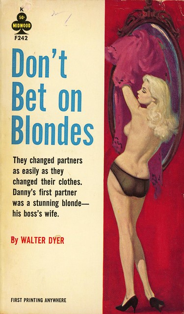 Midwood Books F242 - Walter Dyer - Don't Bet on Blondes