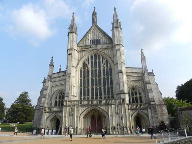 Winchester Cathedral, Winchester, Sep 2016