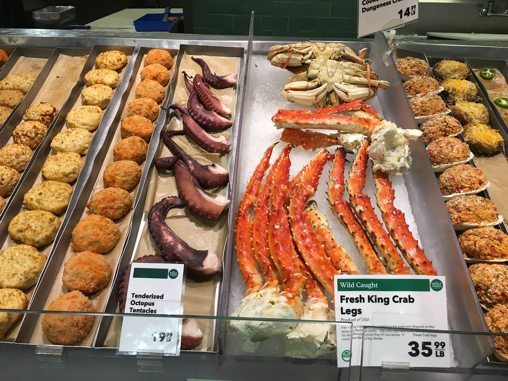 Fresh King Crab Legs and Octopus Tentacles | ✅ Marco Verch