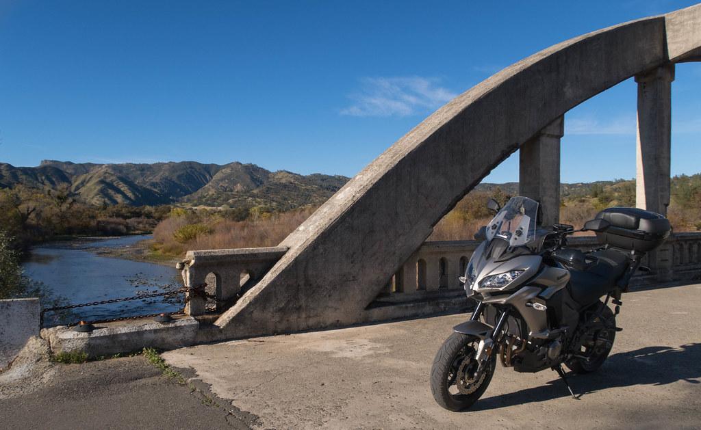 Exploring Northern California with a Kawasaki
