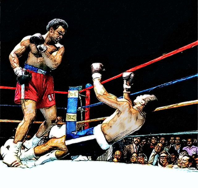 1974 Foreman Knocks out Ken Norton