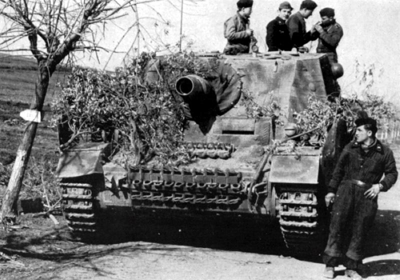 Sturmpanzer IV/'43' or (Sd.Kfz. 166)