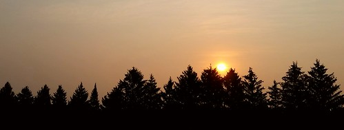 sunrise photo michigan spruce mtpleasant mtpleasantcenter