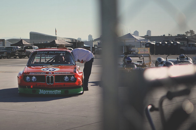 BMW 3.0 CSL in Jagermeister Livery