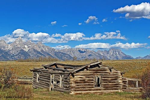 Shane Cabin Grand Teton National Park Wyoming USA - Photorator