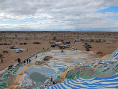Salvation Mountain - from the top
