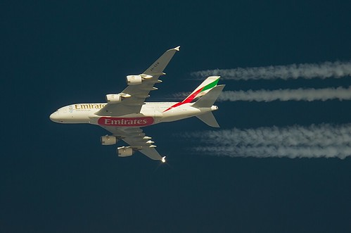Emirates Airbus A380 A6-EEM | by Mike (Radiostationx)