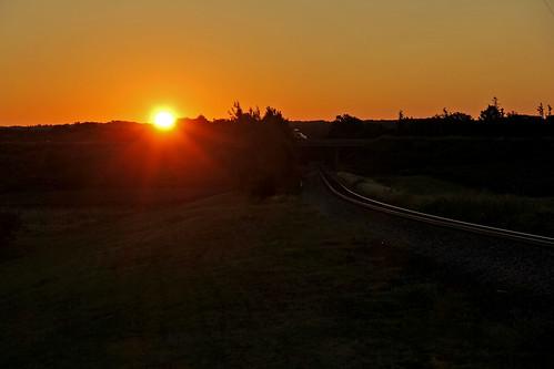 sunrisephotography sunrise sun bortroad northeastpennsylvania railroadtracks