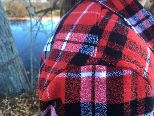 Simplicity 1538 in Robert Kaufman Mammoth Flannel | by patternandbranch