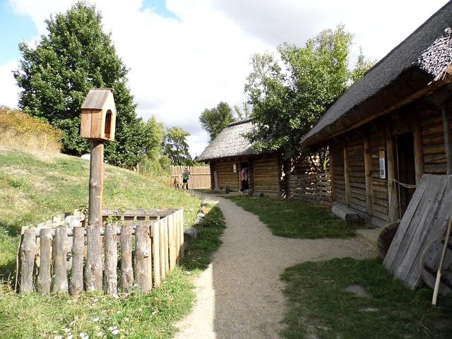 Archeological reservation in Kalisz, Poland.