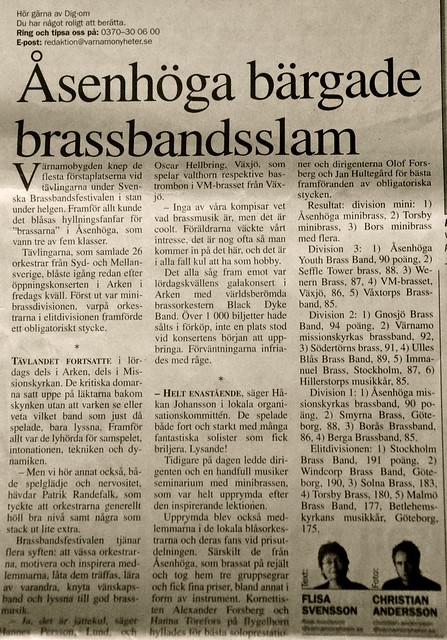 2008 - VN - Storslam