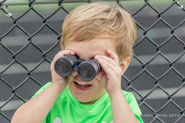 Roman & Binoculars