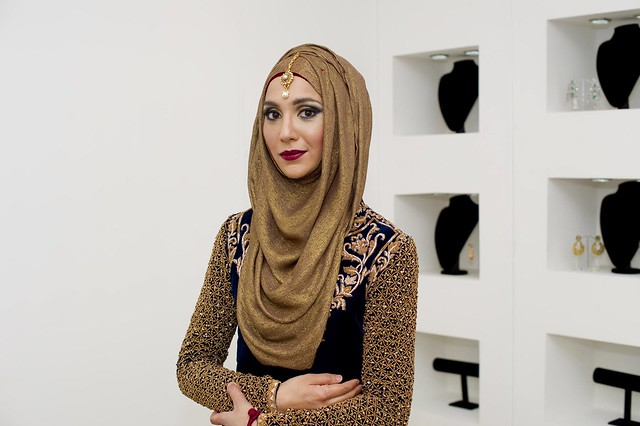 Hijab Fashion-20 Best Hijab Styles for Short Girls to Look Tall