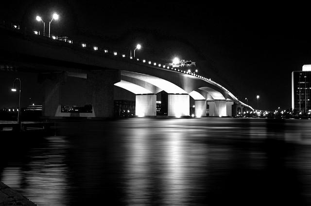 The St. Elmo Acosta Bridge, Jacksonville, Florida, U.S.A. / Opened: August 1994