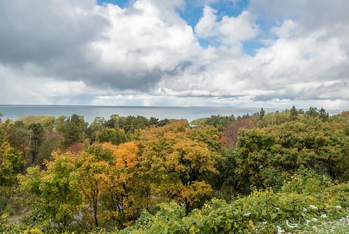 autumn fall us october unitedstates michigan harborsprings legsinn crossvillage