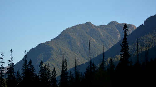 EARLY MORNING IN THE NORTH CASCADES (CANADIAN SIDE)  BC.