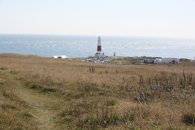 View back to Portland Bill