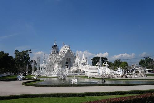 Fahrradtour - Wat Rong Khun_2