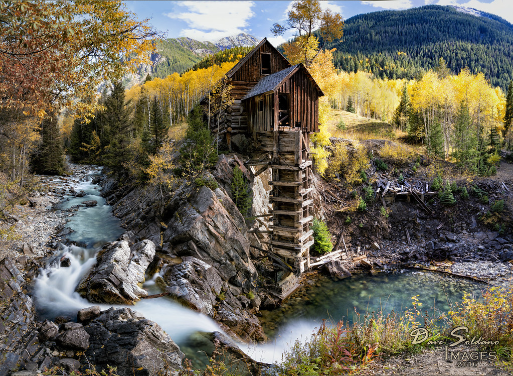 Crystal Mill In Fall One Of My Favorite Colorado Scenes