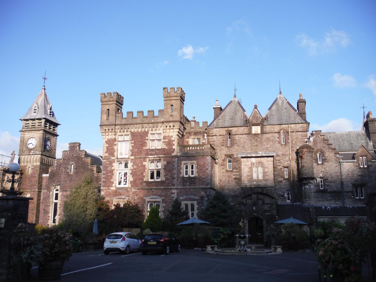 Craig y Nos Castle, from A4067 SWC Walk 280 Henrhyd Falls - Sgwd Henrhyd (Craig y Nos Circular)