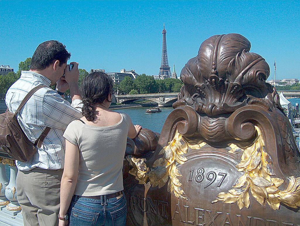 Paris Pont Alexandre III Photo