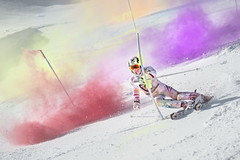 Marcel Hirscher performs during the project 'Marcel Hirscher Colours' at Reiteralm near Schladming, Austria on March 24th, 2015  // Philip Platzer/Red Bull Content Pool // P-20150402-00173 // Usage for editorial use only // Please go to www.redbullcontentpool.com for further information. //