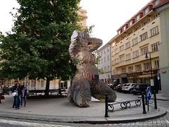 In Utero, David Černý, Praha