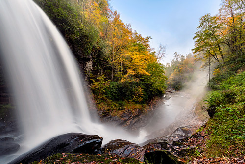 autumn mountains fall nature landscape waterfall highlands northcarolina dryfalls cullasajariver