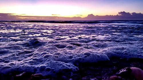 sky sunrisesunsetsceniccloudsbeach oceanseabeachseashellsphotographynature