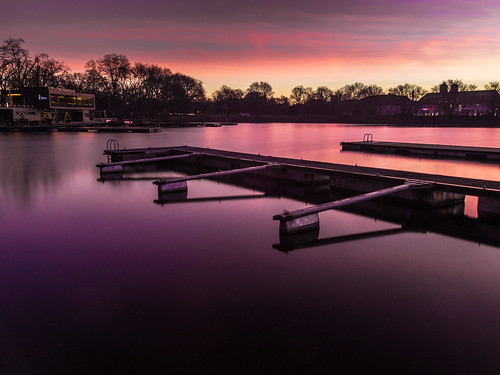 water sunrise aasee longtimeexposure lumixgh2