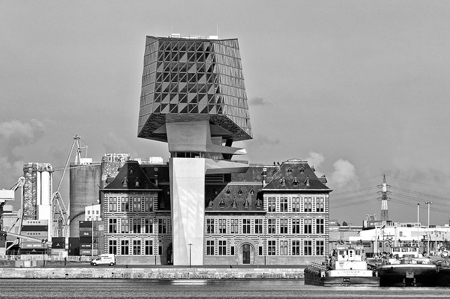 Antwerp: harbour house