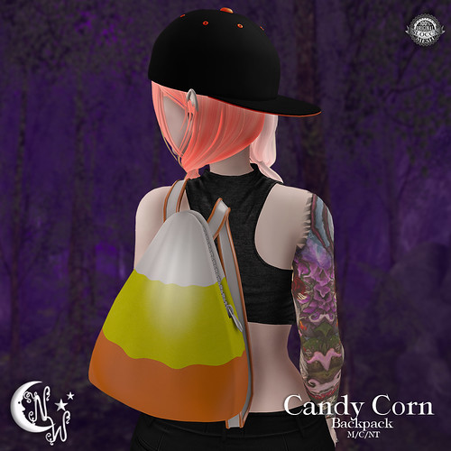 *NW* Candy Corn Backpack