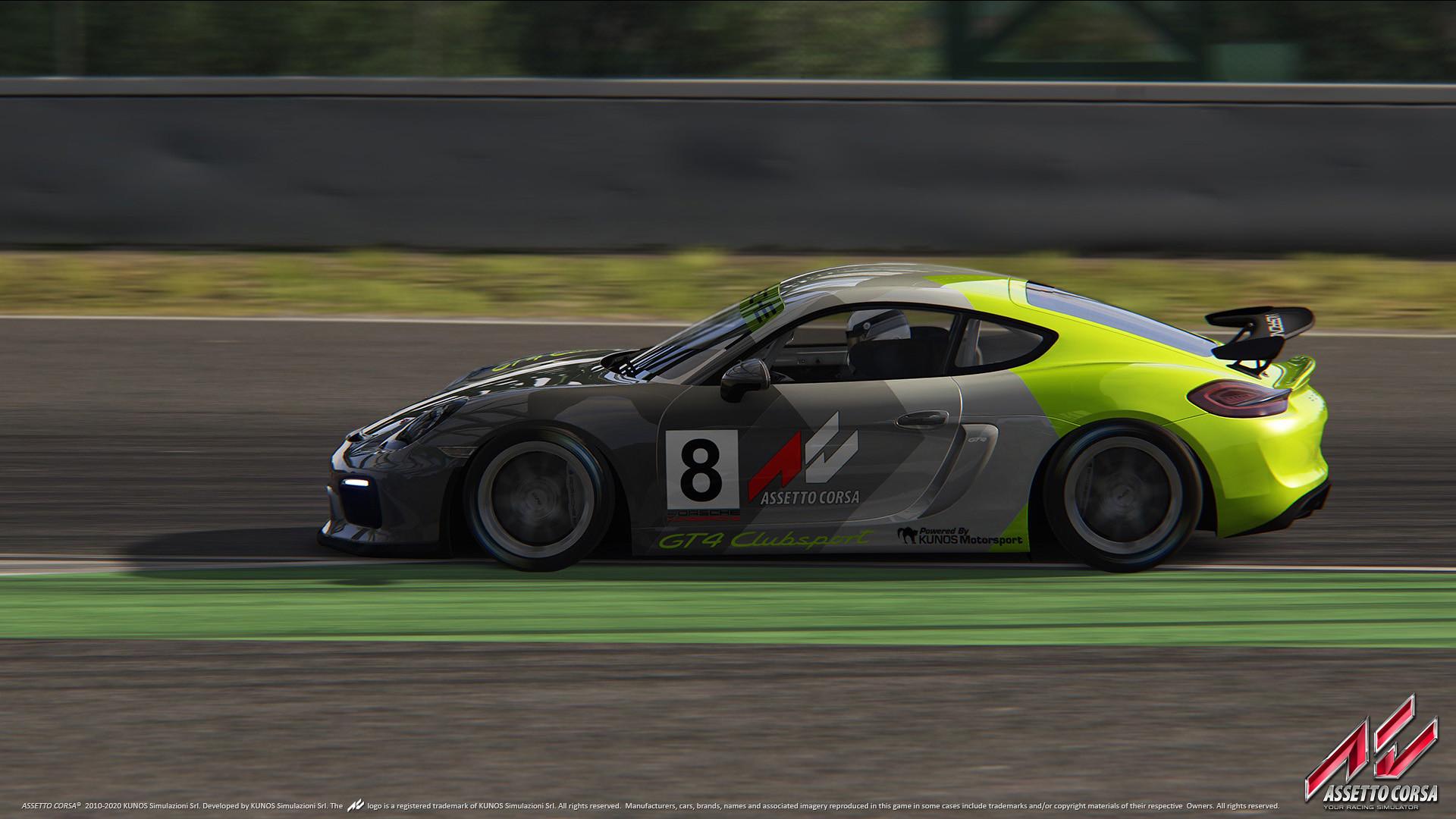 Porsche DLC 9