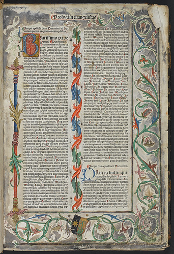 Biblia latina - Decorated page | by glasgowmuseums