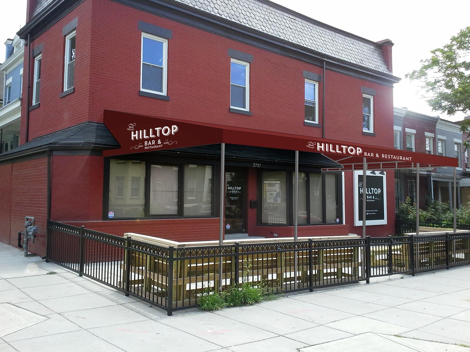 Hilltop Bar & Restaurant Rendering