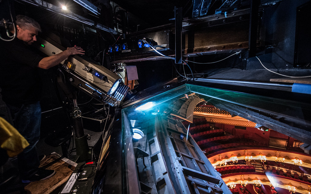 Follow Spot operator Steve Prosho at The Royal Opera House…   Flickr