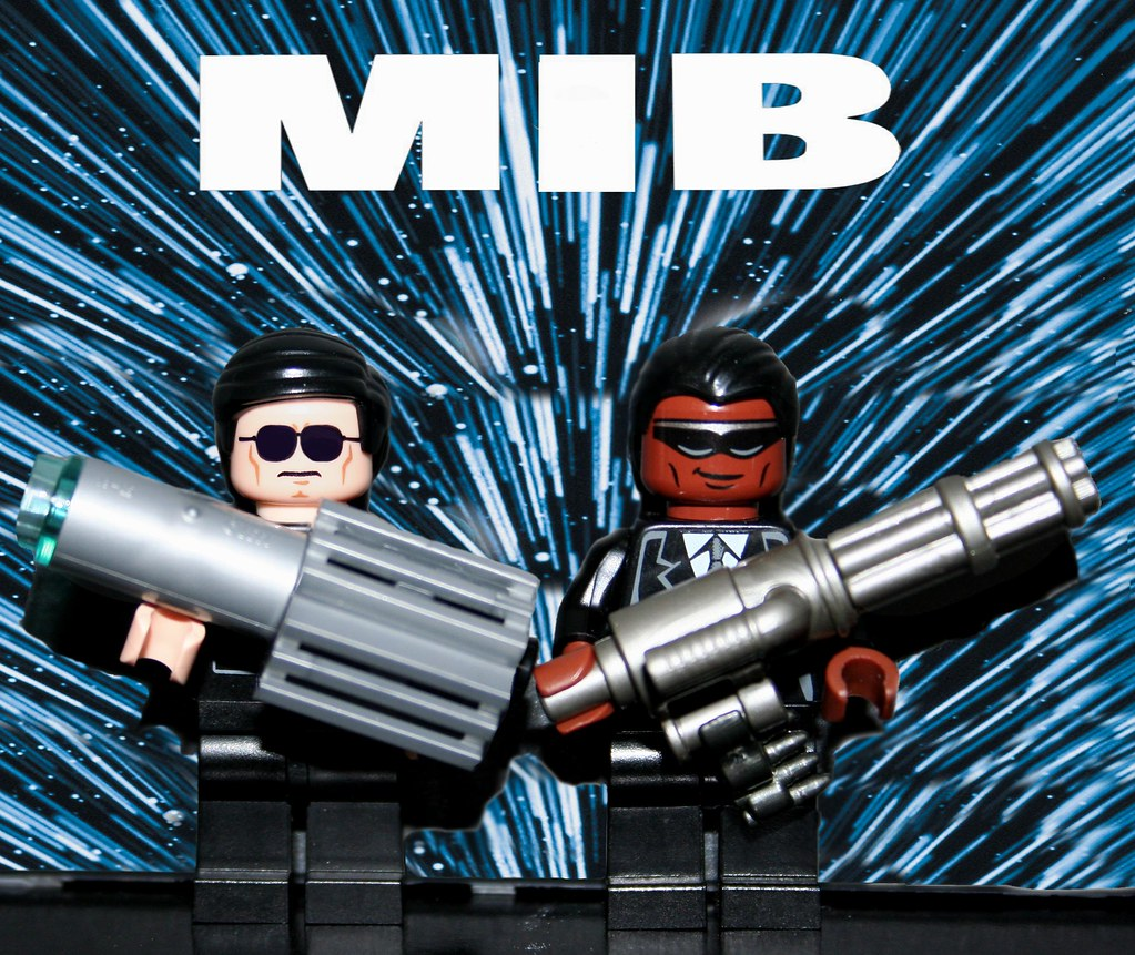 Lego Mib Poster Made By Yours Truly Xxdeadmanzz Flickr