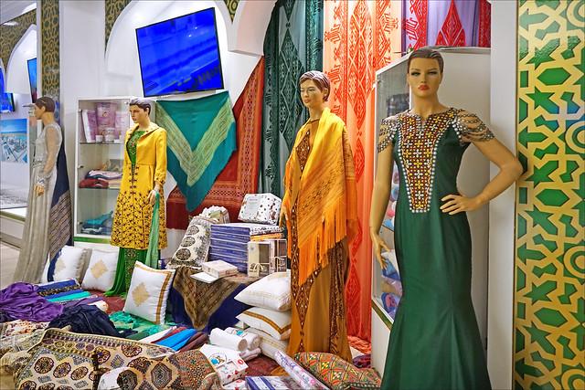 Le pavillon du Turkménistan (Expo Milan 2015)