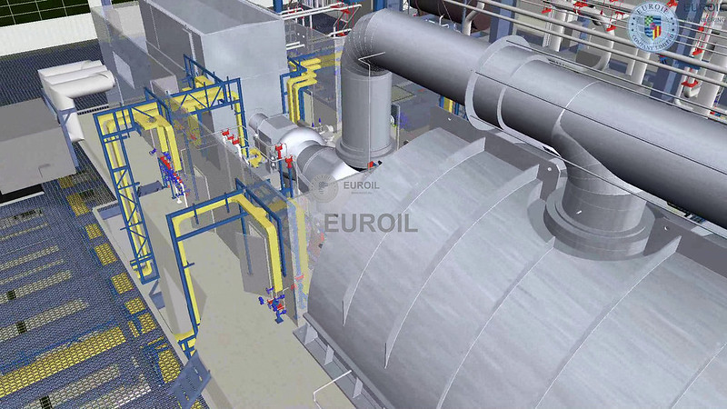 400 MW Gas Cogeneration Power Plant