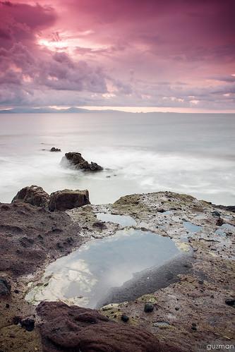2015 luisguzmán costaricaguacalillolongexposurepuntarenasbeachcloudsoceanrocksrockybeachseascapesunsetwater