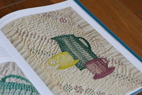 Slow Stitch by Claire Wellesley-Smith | by English Girl at Home