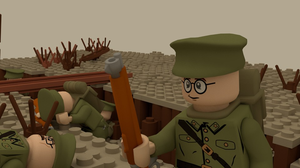 Lego WW1 Battle of the Somme Render 2 | Another still render