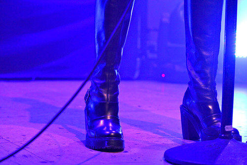 The Pretty Reckless Taylor Momsen boots   by Michael Bialas