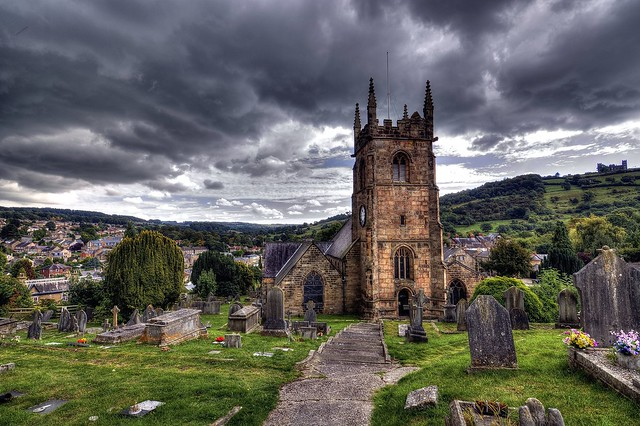 Matlock, St Giles Church - Scenery