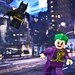 Batman chasing Joker