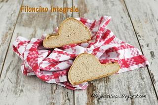 filoncino integrale senza glutine   by mammadaia