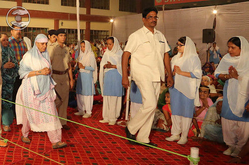 Arrival of Her Holiness in Satsang Venue